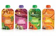Happy Family Organics debuts vegetable blend pouches