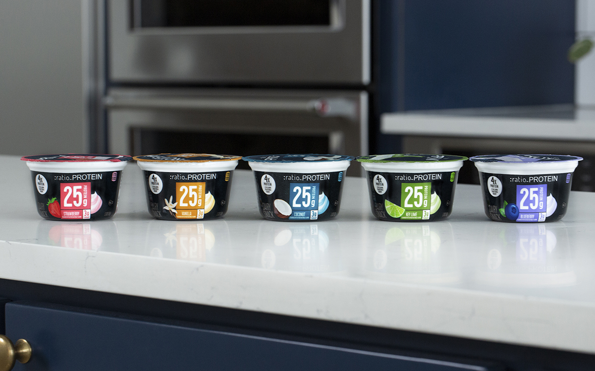 General Mills releases high-protein :Ratio yogurts