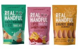 Real Handful debuts Craft Baked Nuts and Savoury Trail Mixes