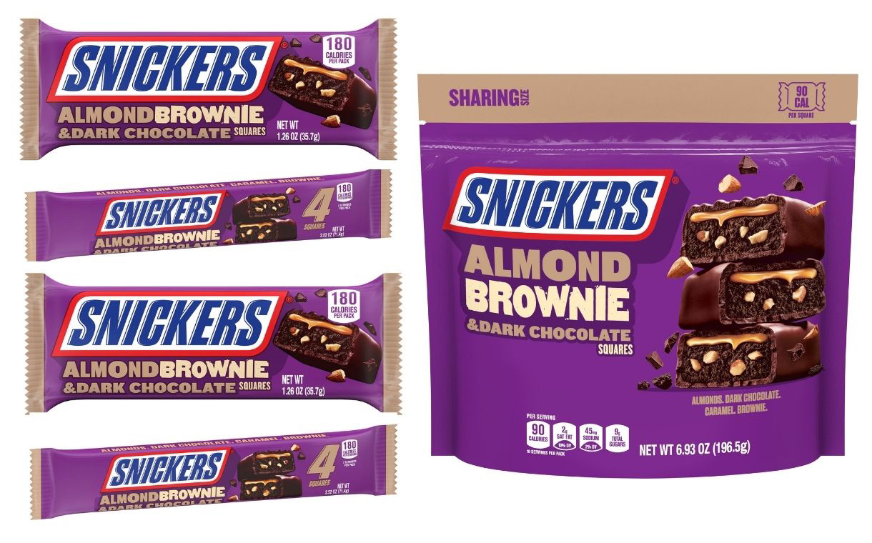 Mars reveals Snickers Almond Brownie for US market