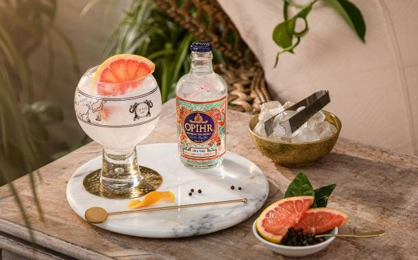 Opihr Gin introduces new grapefruit RTD in UK