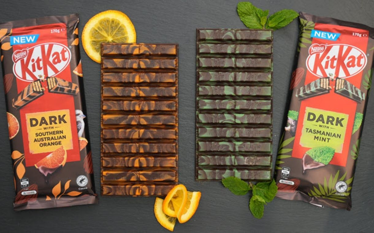 Nestlé releases two new KitKat flavours in Australia