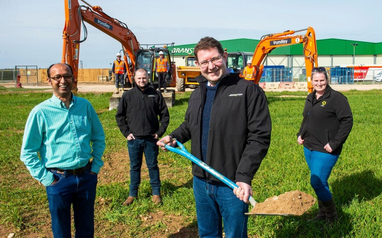Branston begins construction of potato protein extraction facility