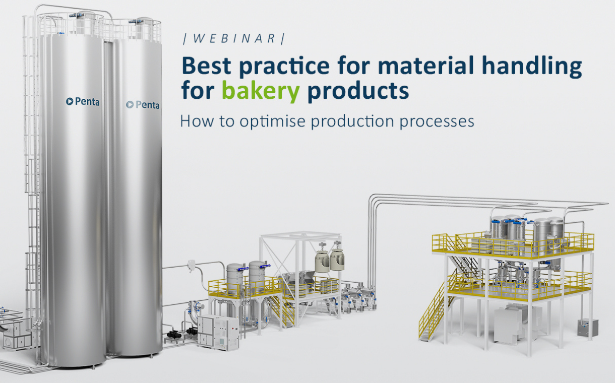 Piovan Group webinar: Best practice for material handling for bakery products