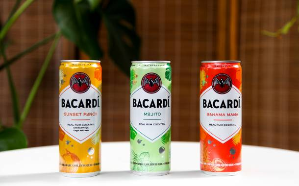 Bacardi releases tropical trio of rum cocktails in US