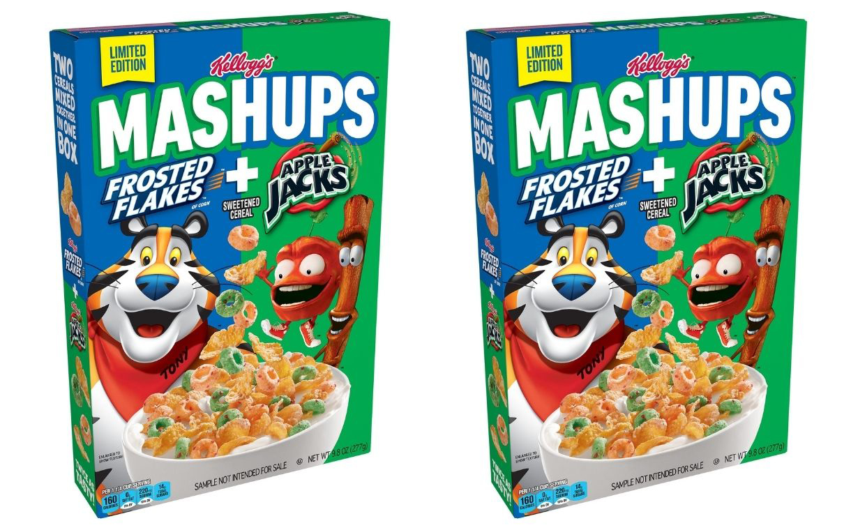 Kellogg debuts Frosted Flakes and Apple Jacks cereal combination