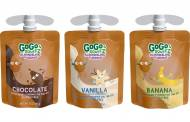 GoGo squeeZ launches new dairy-free pudding pouches in US