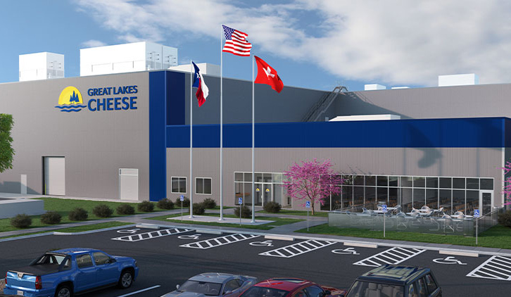 Great Lakes Cheese breaks ground on new Texas cheese plant
