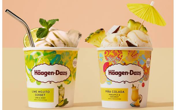 Häagen-Dazs debuts summer cocktail-infused ice cream collection