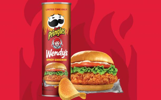 Kellogg partners with Wendy's to launch Pringles Spicy Chicken flavour