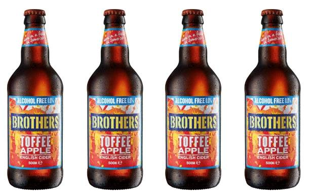 Brothers Cider unveils Toffee Apple Alcohol Free