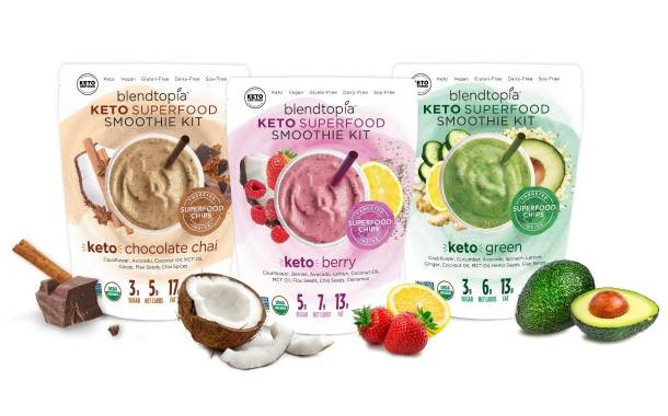 Blendtopia releases new keto-friendly smoothie kits in US