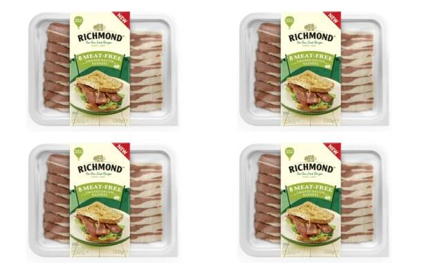 Kerry-owned Richmond to launch meatless bacon rashers in UK