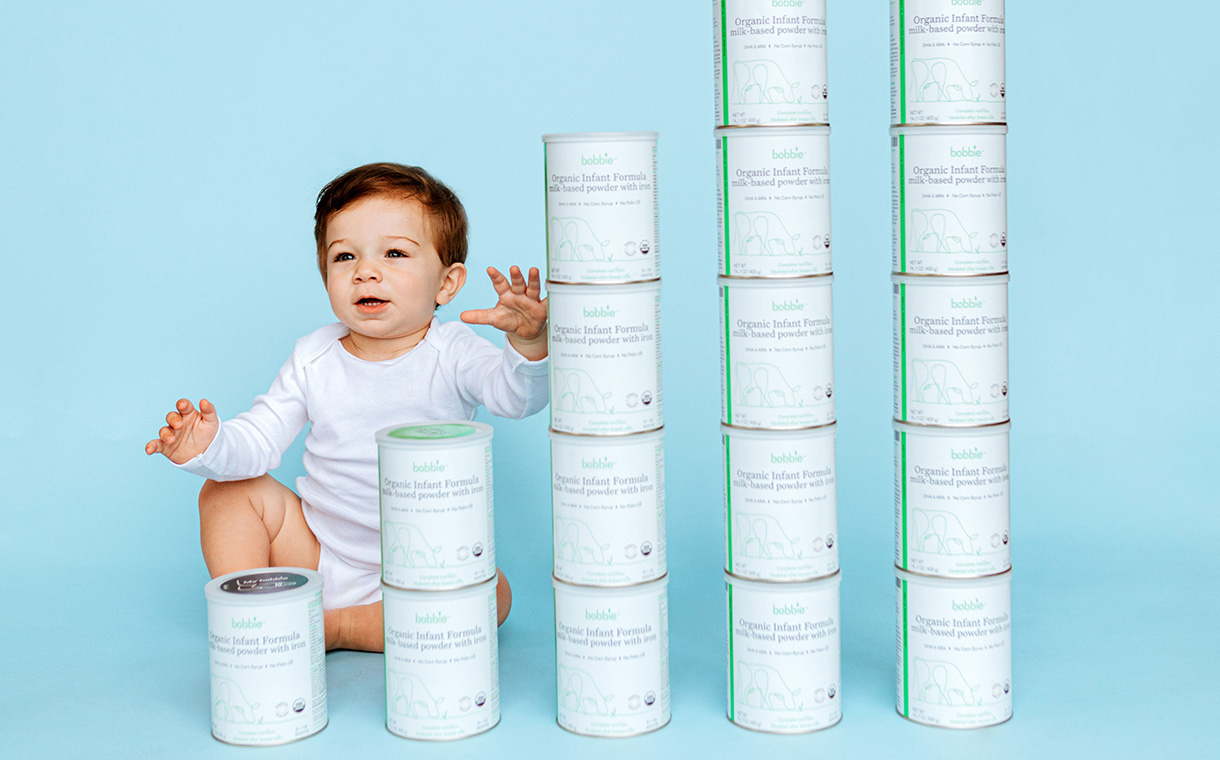 Infant formula company Bobbie secures $15m in Series A funding