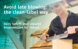 Dairy Safe™: assured bioprotection for clean-label cheese