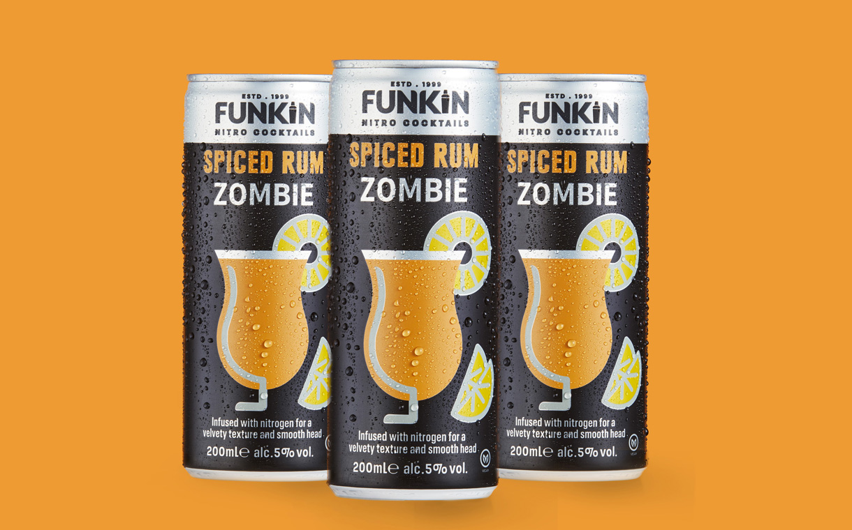AG Barr's Funkin brand debuts Spiced Rum Zombie Nitro cocktail