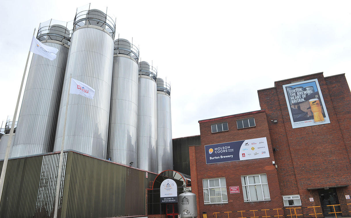 Molson Coors to invest £25m in Burton brewery, UK