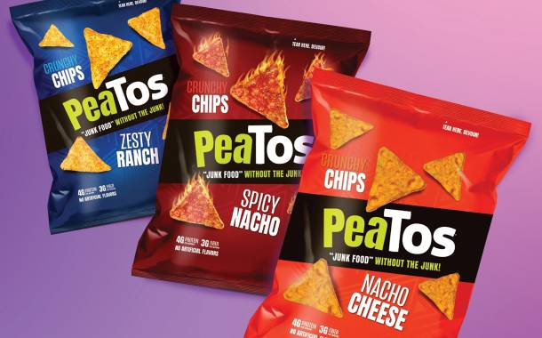 PeaTos releases new tortilla style chips line in US