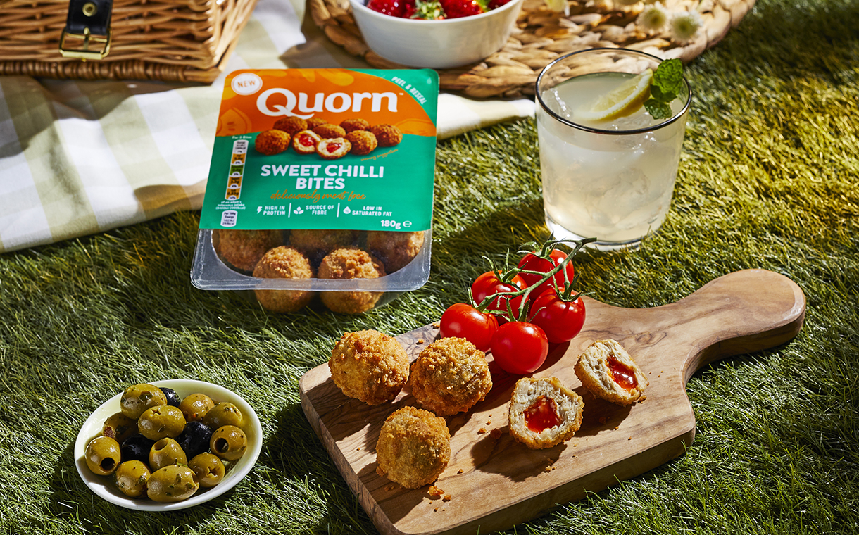 Quorn Foods launches new Sweet Chilli Bites in UK