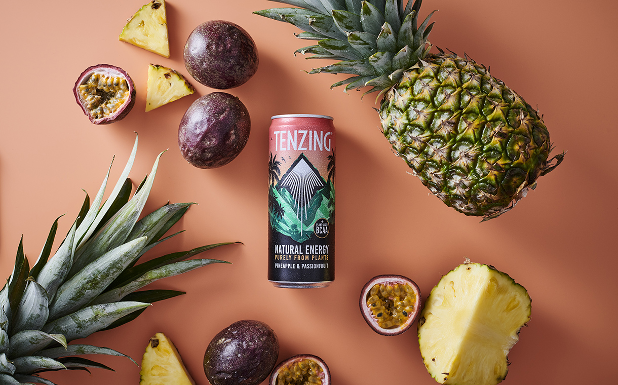 Tenzing unveils new tropical natural energy drink