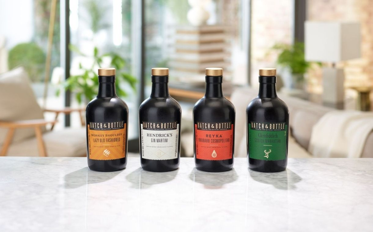 William Grant & Sons unveils Batch & Bottle ready-to-drink cocktails