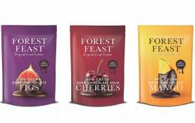 Kestrel Foods' Forest Feast brand releases range of chocolate-dipped fruit