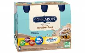 Nestlé Health Science teams up with Cinnabon to launch new nutritional drink