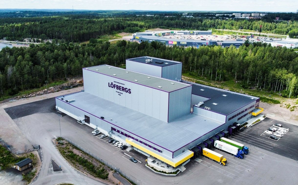 Löfbergs opens new coffee roastery in Sweden following $23m investment
