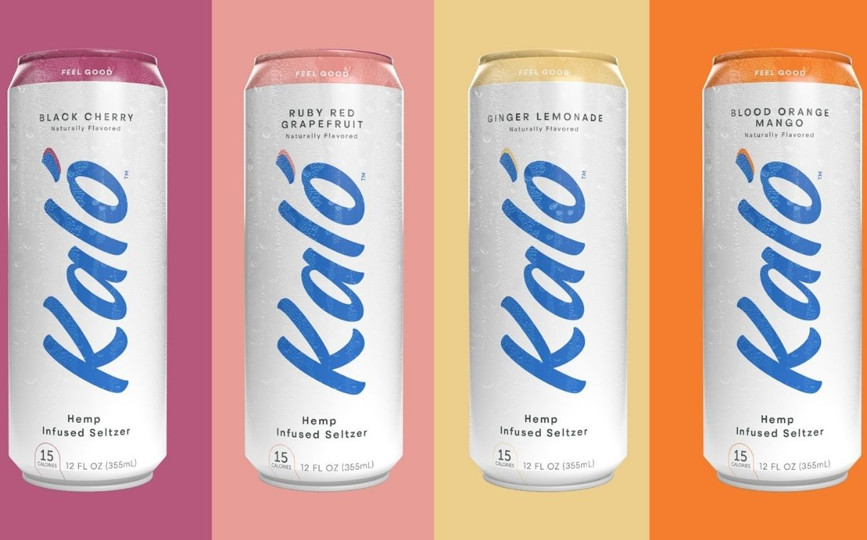 Hillview's Kaló brand unveils four new hemp-infused seltzers