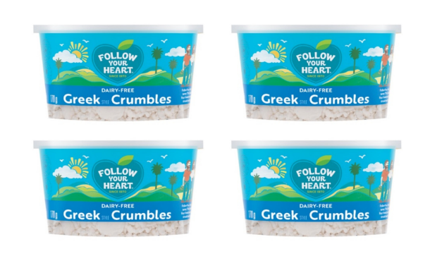 Follow Your Heart launches Greek Style Crumbles