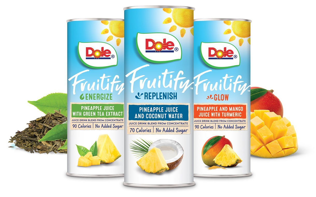 Dole releases new functional juices and fruit bowls