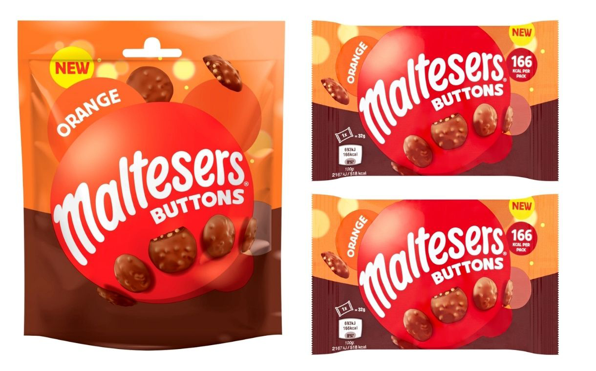 Mars Wrigley releases new Maltesers Orange Buttons in UK