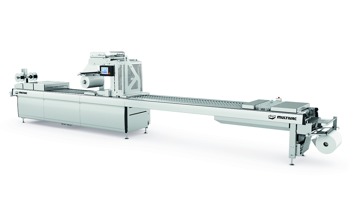 Multivac unveils new F 286 thermoforming machine for packaged snacks