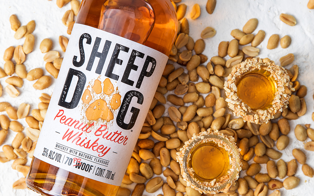 Sheep Dog Peanut Butter Whiskey debuts in UK