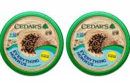 Cedar's Foods introduces topped hummus with everything bagel seasoning