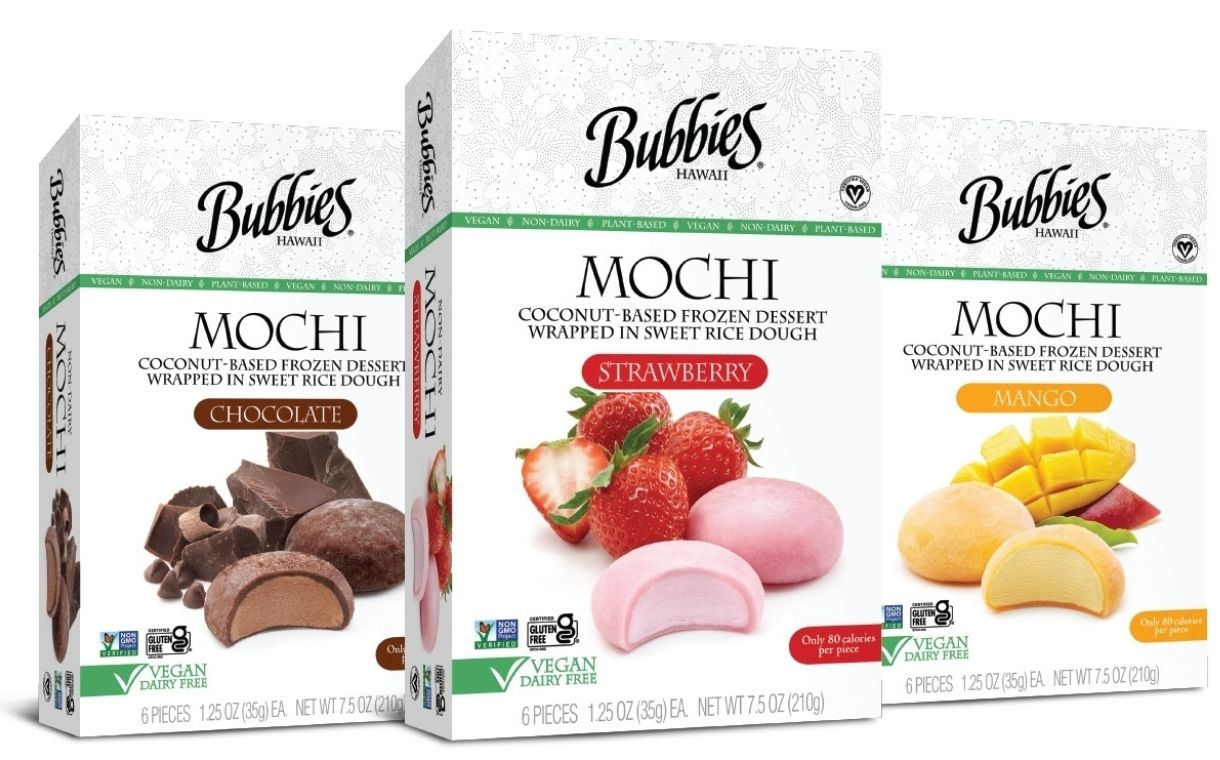 Bubbies launches new vegan mochi ice cream flavour and retail packs