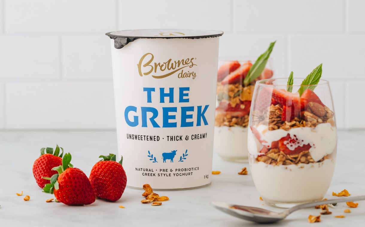 Brownes Dairy launches first 'adult' yogurt