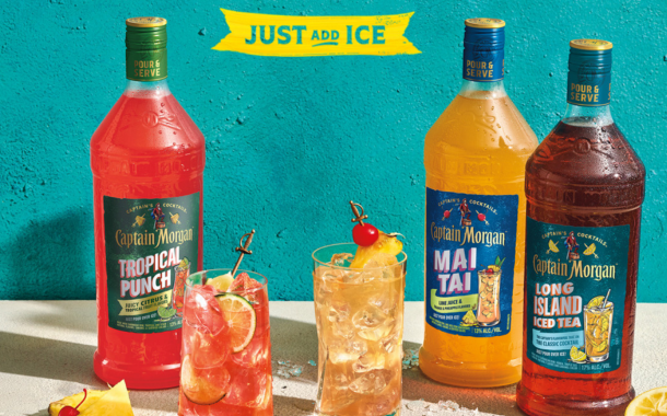 Captain Morgan launches ready-to-serve cocktails