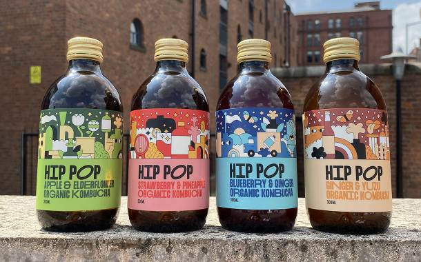 Kombucha brand renames to Hip Pop and secures first retail listing