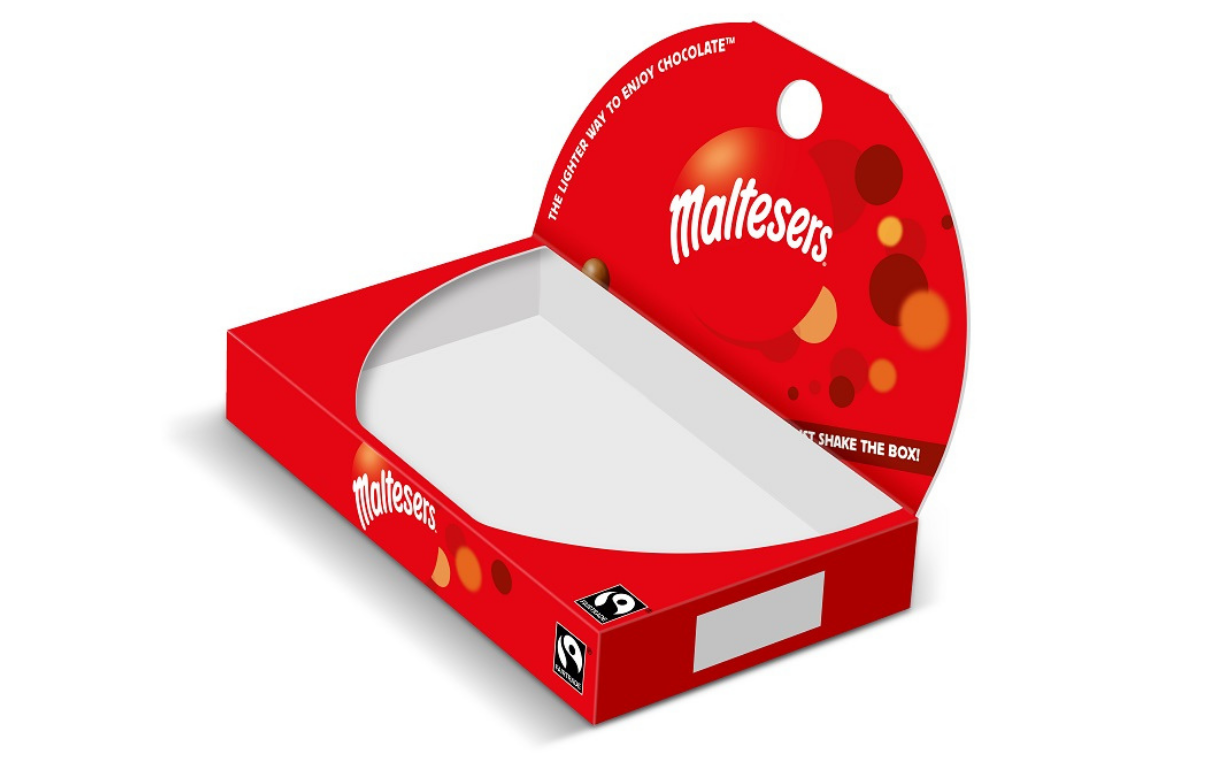 Mars to remove 82 tonnes of plastic from Maltesers boxes