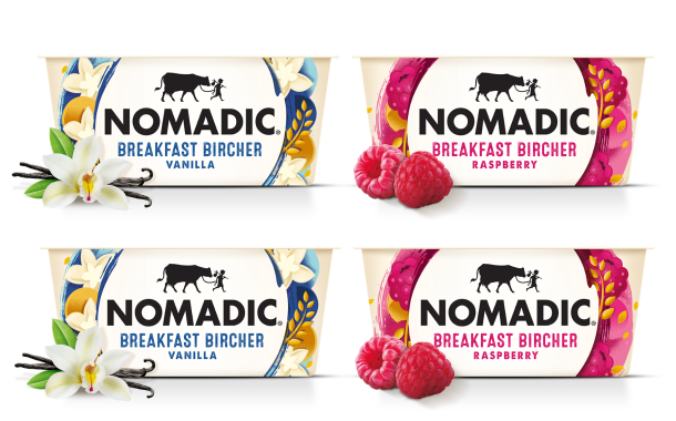 Nomadic Dairy launches two new Breakfast Bircher flavours