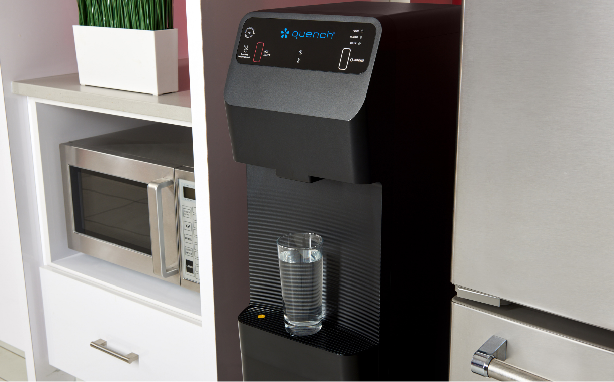 Quench unveils new line of touch-free water dispensing