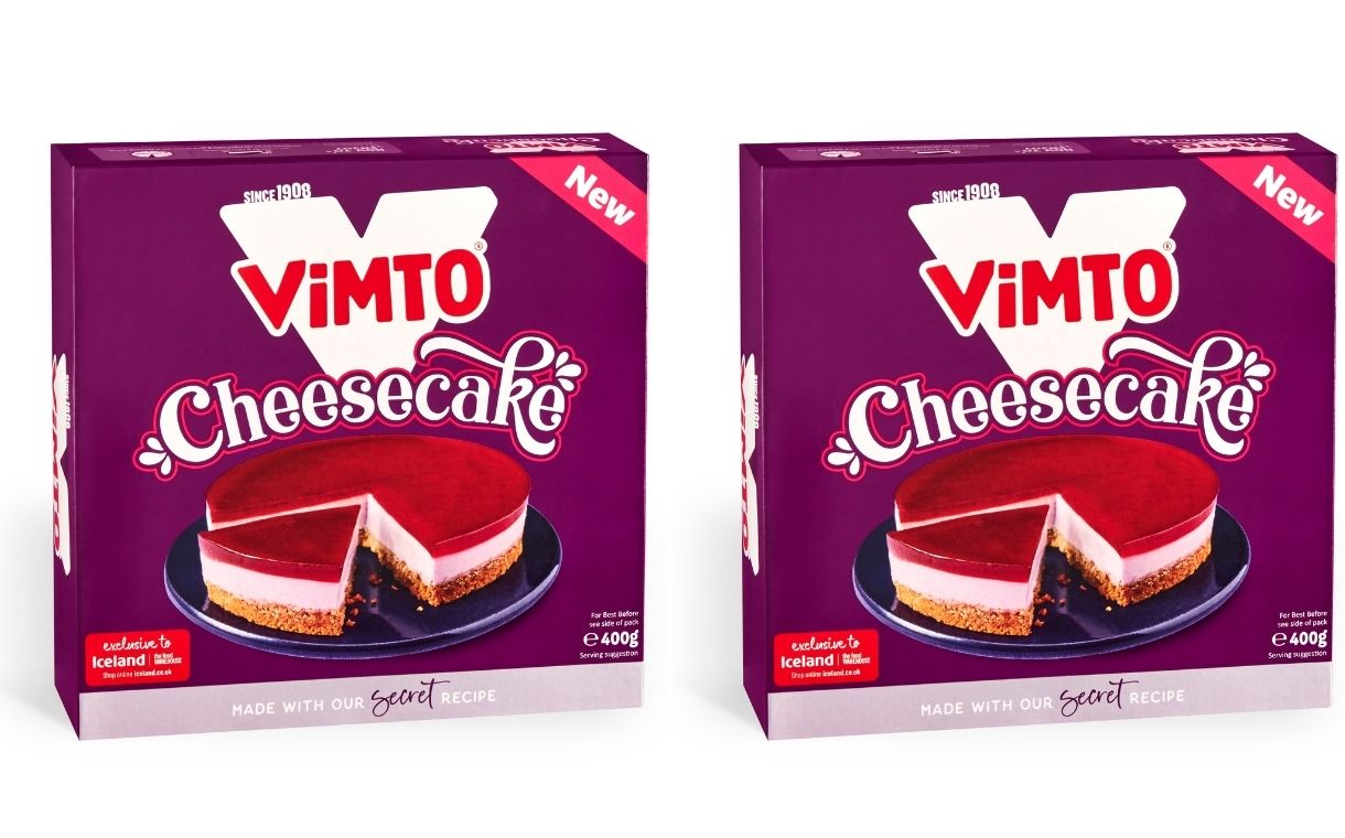 Vittles Foods teams up with Vimto to launch new baked cheesecake
