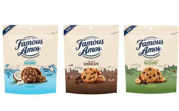 Famous Amos introduces internationally inspired cookies