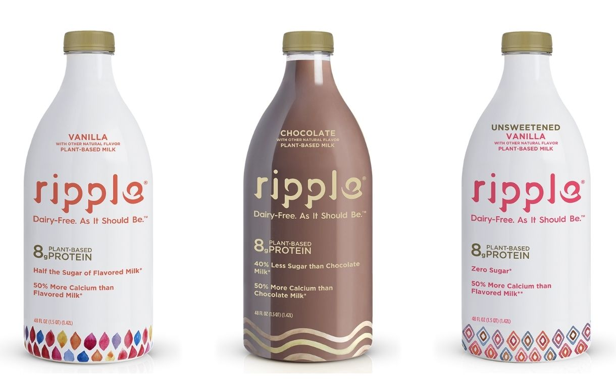 Dairy alternatives producer Ripple Foods secures $60m in funding