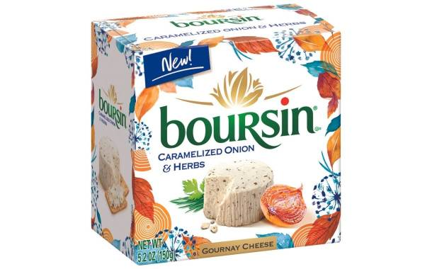 Bel Brands unveils caramelised onion and herbs Boursin cheese