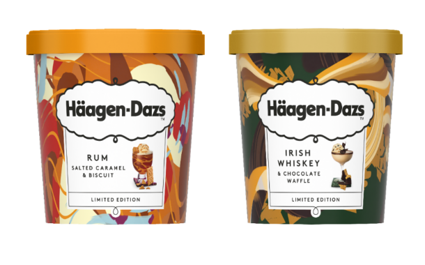 Häagen-Dazs launches two new limited-edition cocktail-infused ice creams
