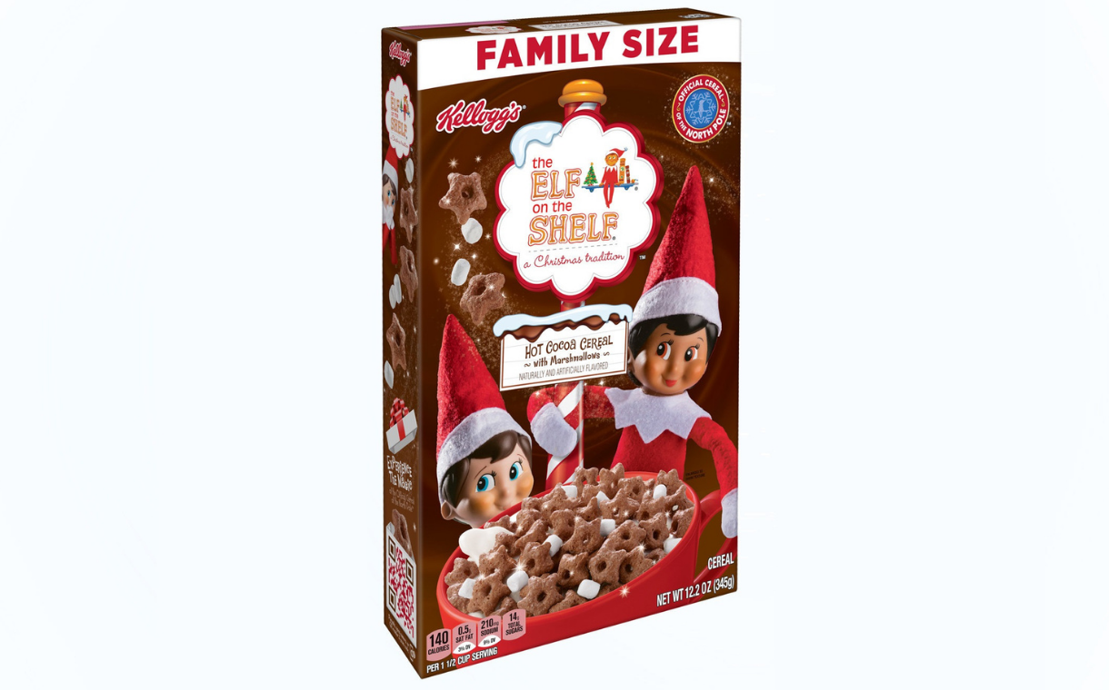 Kellogg launches new seasonal The Elf on the Shelf cereal flavour