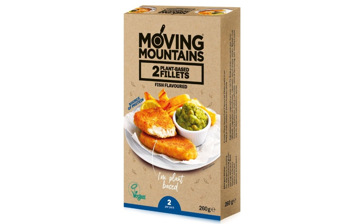 Moving Mountains launches plant-based fish-style fillets
