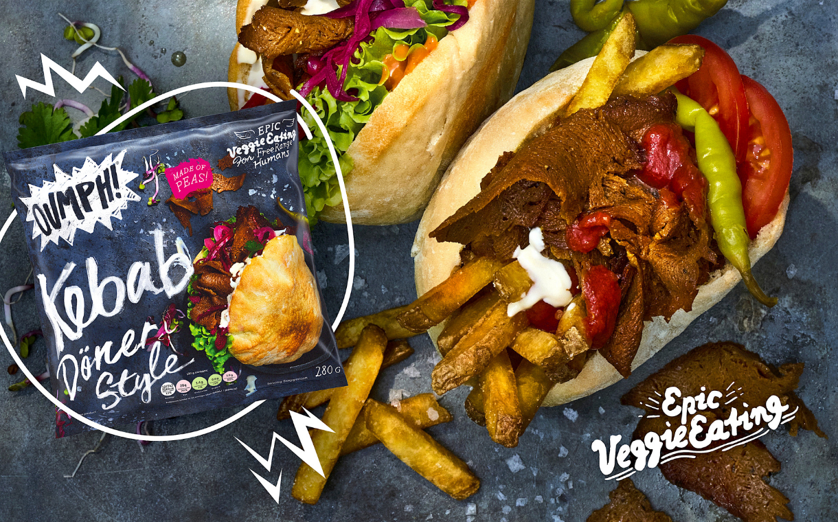 Oumph launches vegan döner-style kebab meat in Iceland